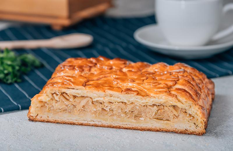Заказать пирог с капустой 2 кг