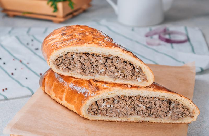 Заказ пирог с мясом 1 кг
